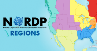 NORDP Regions Map